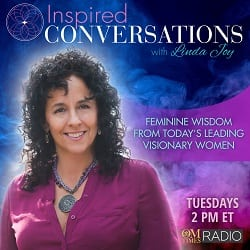 Inspired Conversations - Om Radio interview with Linda Joy and Kelley Grimes